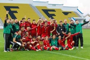 Награждение ФК Тирасполь 2014