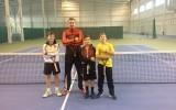 Сборы теннисистов в Тирасполе